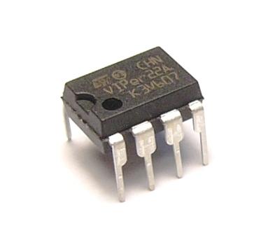 VIPer22A DIP8 / микросхема.