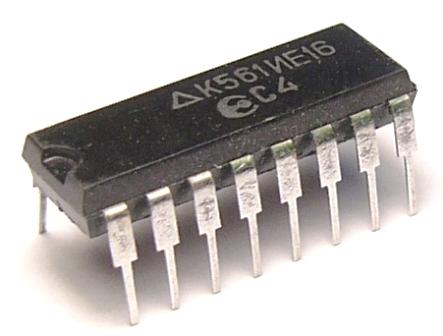 к561ие16 / микросхема.
